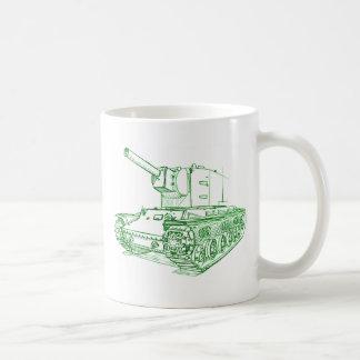 Caneca De Café Russo do tanque de KV2 Kb-2
