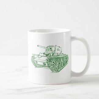 Caneca De Café Russo do tanque KV1