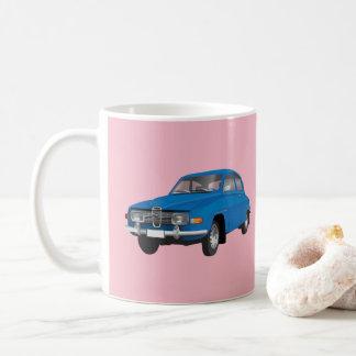Caneca De Café Saab 96, azul,