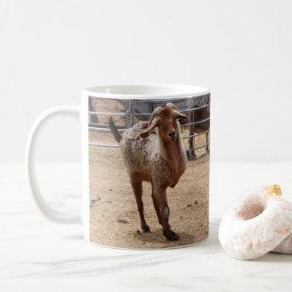 """Caneca de café salvada da cabra do """"tripé"""""""