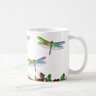 Caneca De Café Salvar a libélula!!
