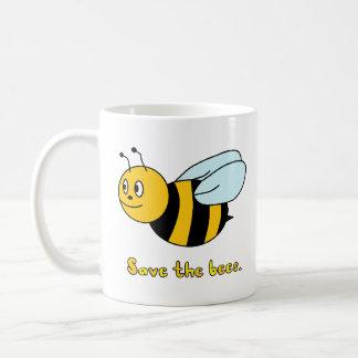 Caneca De Café 'Salvar as abelhas