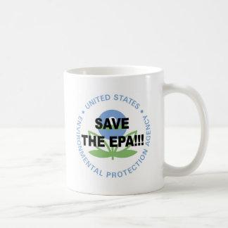 Caneca De Café Salvar o EPA