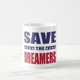 Caneca De Café Salvar os sonhadores