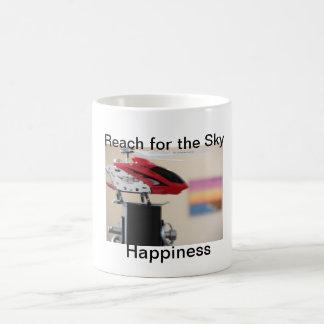 Caneca De Café SAM_0141, felicidade, alcance para o céu