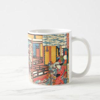 Caneca De Café Samurai contra o inverno