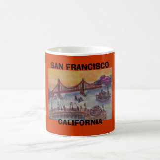CANECA DE CAFÉ SAN FRANCISCO, CALIFÓRNIA