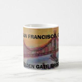 CANECA DE CAFÉ SAN FRANCISCO, GOLDEN GATE BRIDGE
