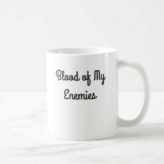 Caneca De Café Sangue de meu copo de café dos inimigos