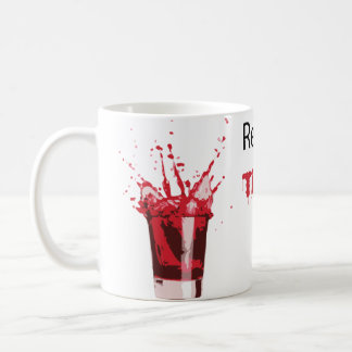 Caneca De Café Sangue do tigre da bebida