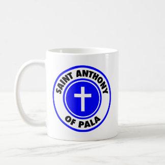 Caneca De Café Santo Anthony de Pala