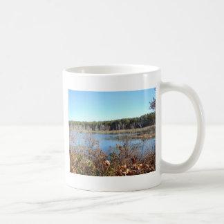 Caneca De Café Santuário de pássaro do lago sams