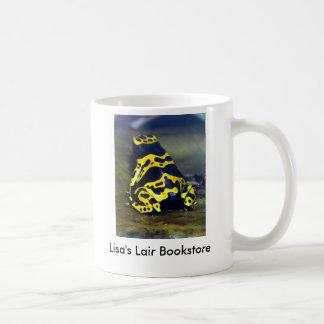 Caneca De Café sapo Amarelo-unido do veneno - leucomelas de