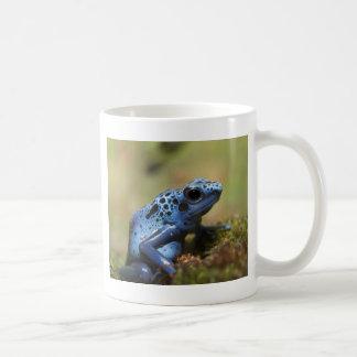 Caneca De Café Sapo azul do dardo do veneno