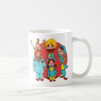 Caneca De Café Sardar Ji e família!