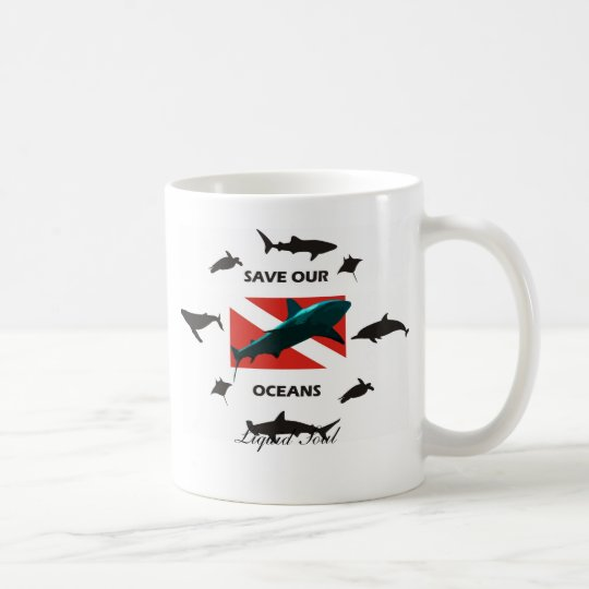 Caneca De Café Save Our Oceans - Mug