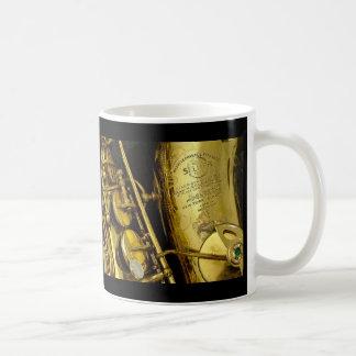 Caneca De Café Saxofone
