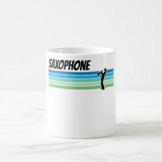 Caneca De Café Saxofone retro