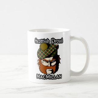 Caneca De Café Scottish escocês do Tartan de MacMillan do clã