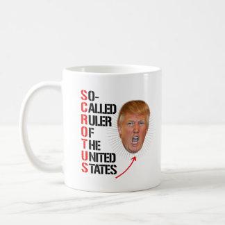 Caneca De Café SCROTUS - Régua assim chamada dos Estados Unidos