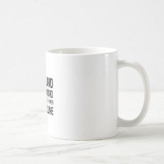 Caneca De Café Se encontrado na terra arraste por favor sobre o