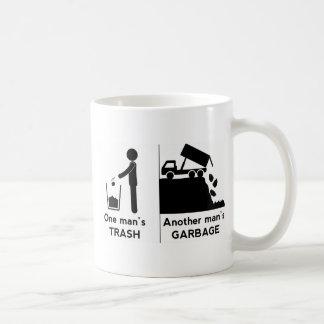 Caneca De Café Se equipa o lixo