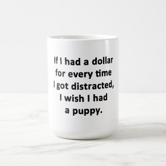 Caneca De Café Se eu tive um dólar