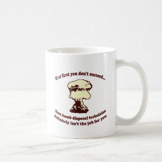 Caneca De Café Se início em você não suceda