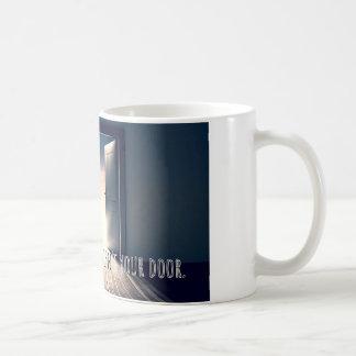 Caneca De Café Se não abre não é você porta