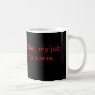 Caneca De Café Se não era para o café, meu trabalho seria um