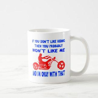 Caneca De Café Se você não gosta de montar então você não