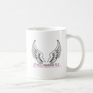 Caneca De Café Se você quer voar…