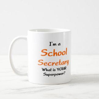 Caneca De Café Secretário da escola