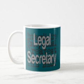 Caneca De Café Secretário legal Extraordinaire