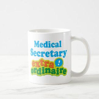 Caneca De Café Secretário médico Extraordinaire Presente Ideia