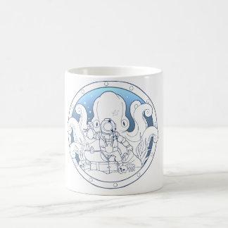 Caneca De Café segredos do oceano