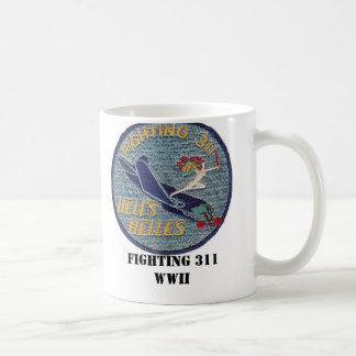 Caneca De Café Segunda guerra mundial 311 de combate