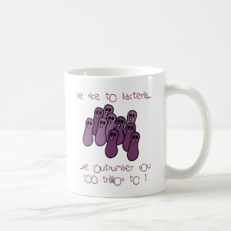 Caneca De Café seja agradável às bactérias