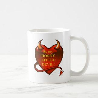 Caneca De Café Seja meu diabo pequeno horny
