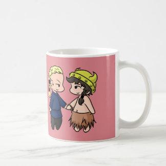 Caneca De Café Seja meus namorados minúsculos (de Viking)!