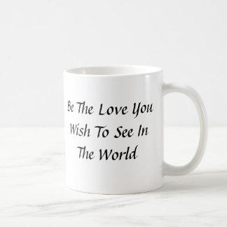 Caneca De Café Seja o amor