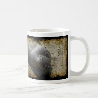 Caneca De Café Selo de elefante de sorriso
