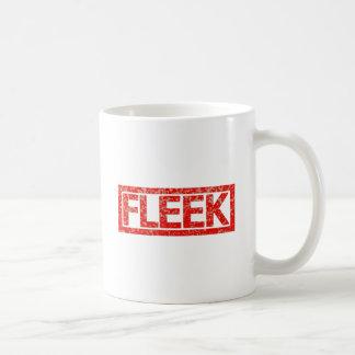 Caneca De Café Selo de Fleek