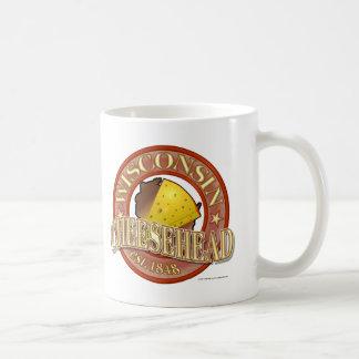 Caneca De Café Selo de Wisconsin Cheesehead