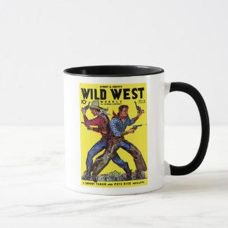 Caneca de café semanal ocidental selvagem do