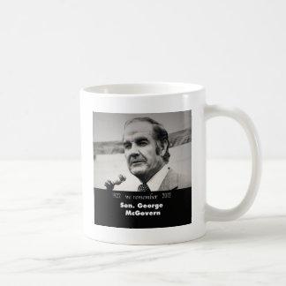 Caneca De Café Senador George McGovern 1922-2012