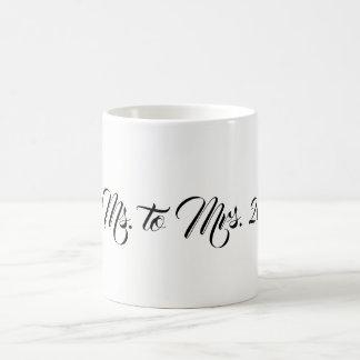 Caneca De Café Senhora à Sra. Copo