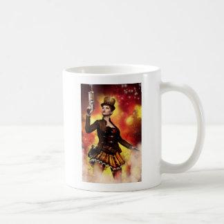 Caneca De Café Senhora de Steampunk