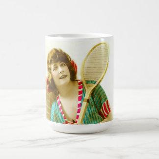 Caneca De Café Senhora e tênis