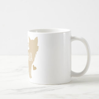 Caneca De Café senhora louca da chihuahua